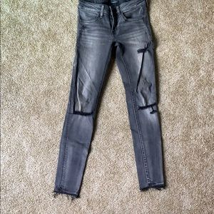 Low rise size 2 American eagle jeggings